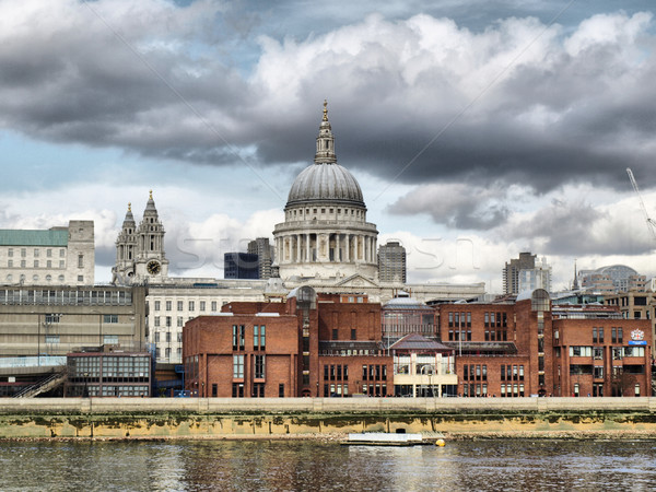 Stockfoto: Kathedraal · Londen · Verenigd · Koninkrijk · hoog · dynamisch