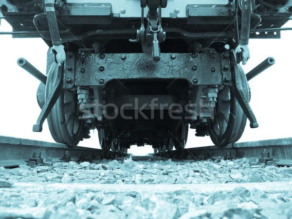 Steam train Stock photo © claudiodivizia