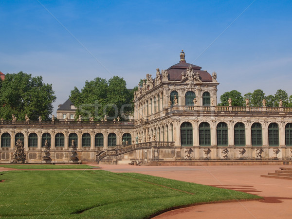 Stock photo: Dresden Zwinger