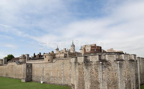 Torre Londra medievale castello carcere pietra Foto d'archivio © claudiodivizia