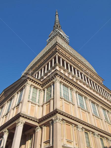 Vakond Torino Torino klasszikus Európa ősi Stock fotó © claudiodivizia