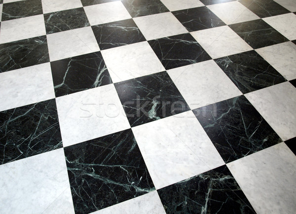 Checked floor Stock photo © claudiodivizia