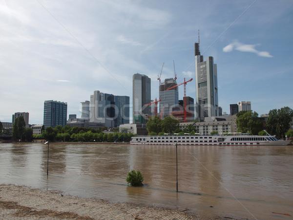 Francfort Allemagne vue ville principale Photo stock © claudiodivizia