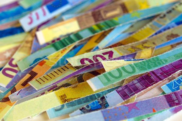 Euro note Stock photo © claudiodivizia