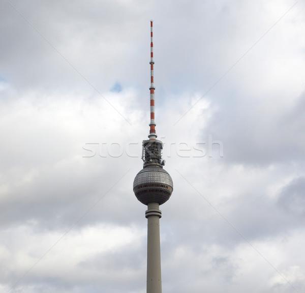 TV Tower, Berlin Stock photo © claudiodivizia