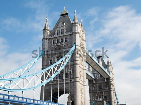Tower Bridge Londres rio água torre Foto stock © claudiodivizia