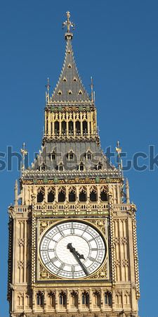 Big Ben casas parlamento westminster palacio Londres Foto stock © claudiodivizia