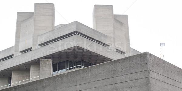 театра Лондон iconic новых архитектура Англии Сток-фото © claudiodivizia