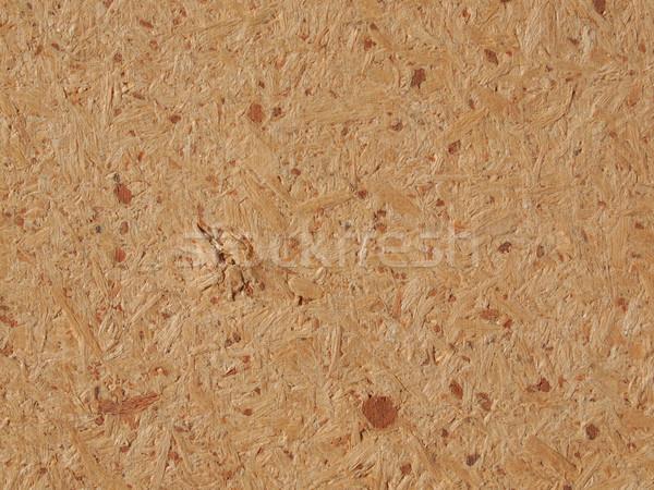 Brown composite wood background Stock photo © claudiodivizia