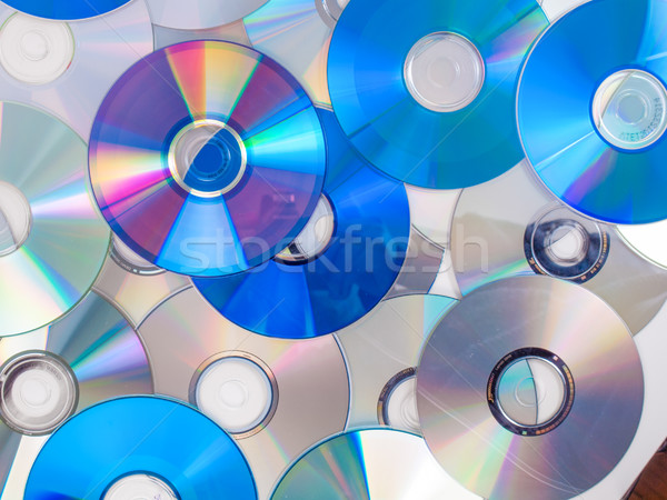 компакт-диск диска оптический музыку видео Сток-фото © claudiodivizia