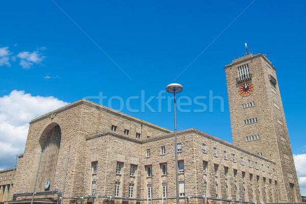 Central Station, Stuttgart Stock photo © claudiodivizia