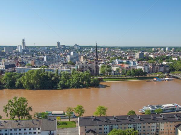 Francoforte sul Meno città principale Germania Foto d'archivio © claudiodivizia