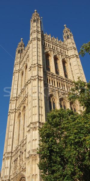 Case parlamento westminster palazzo Londra gothic Foto d'archivio © claudiodivizia
