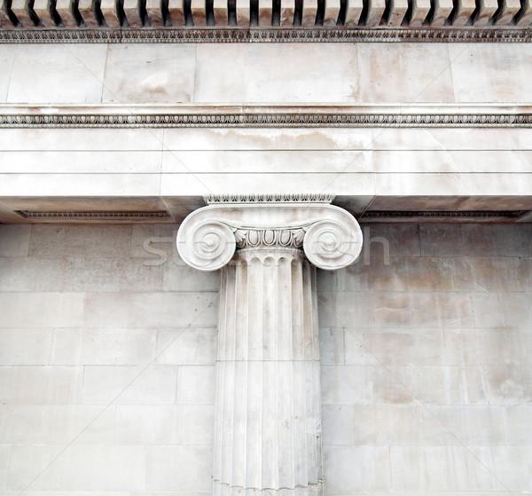 építészeti részlet ősi díszített retro építészet szerszám Stock fotó © claudiodivizia