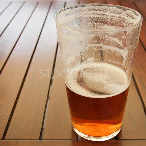 Bière boire verre pinte Photo stock © claudiodivizia