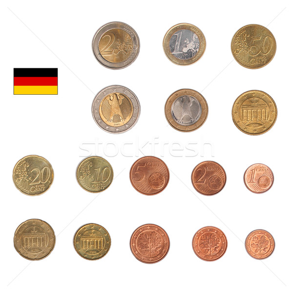 Euro coin - Germany Stock photo © claudiodivizia