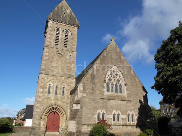 Cardross parish church Stock photo © claudiodivizia