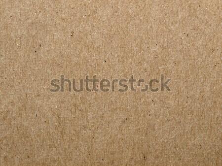 Stock photo: cardboard