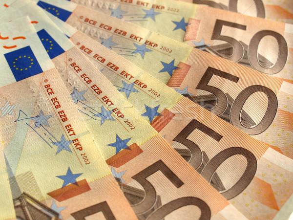 Euros note monnaie européenne Union Photo stock © claudiodivizia