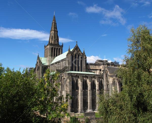 Foto d'archivio: Glasgow · cattedrale · alto · costruzione · muro · chiesa