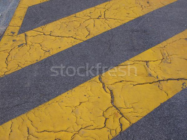 Pista asfalto carretera útil calle fondo Foto stock © claudiodivizia
