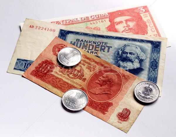 Geld communist landen financieren bank Berlijn Stockfoto © claudiodivizia