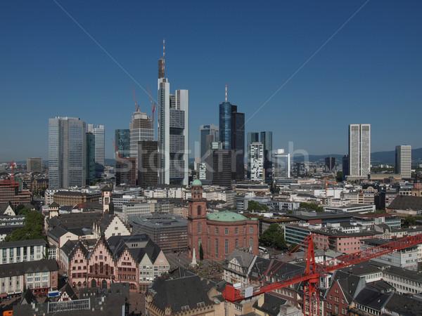 Francoforte sul Meno principale città Germania Foto d'archivio © claudiodivizia
