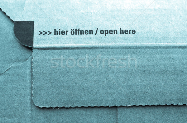 Packet parcel Stock photo © claudiodivizia