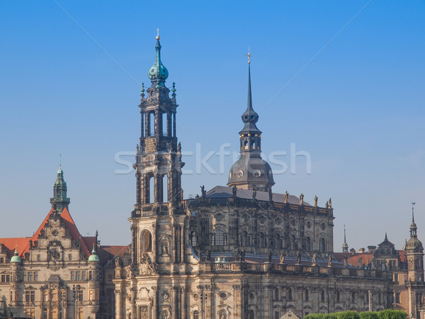 Stock photo: Dresden Hofkirche