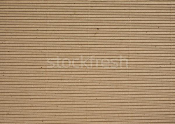 Carton brun utile papier Photo stock © claudiodivizia