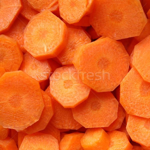 Havuç turuncu havuç dilimleri yararlı halka Stok fotoğraf © claudiodivizia