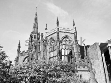Coventry Cathedral ruins Stock photo © claudiodivizia