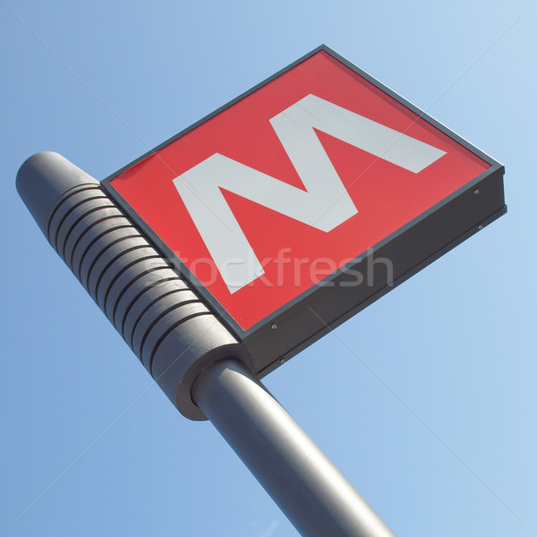 Subway sign Stock photo © claudiodivizia