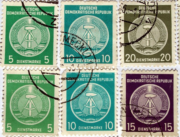 DDR stamps Stock photo © claudiodivizia