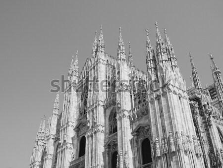 Londen stad Engeland stad skyline Stockfoto © claudiodivizia
