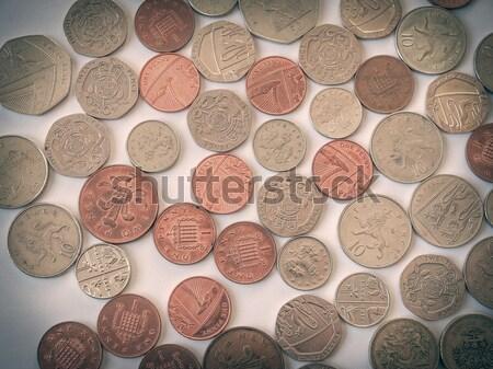 British Pound Stock photo © claudiodivizia