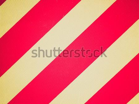 Retro mirar signo Foto vintage mirando Foto stock © claudiodivizia