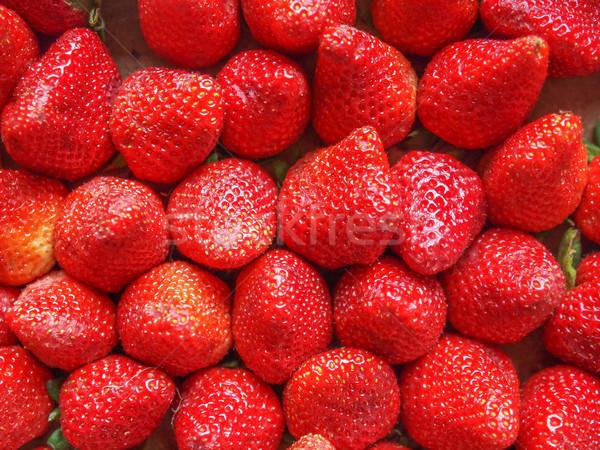 Fraises fruits fraise fruits jardin Photo stock © claudiodivizia