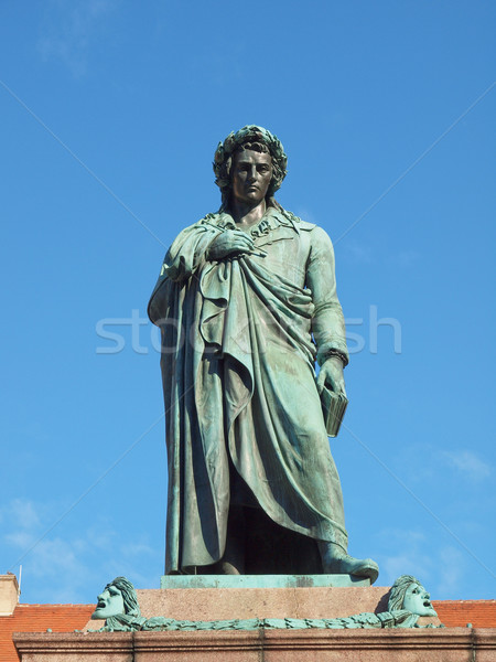 Schiller statue, Stuttgart Stock photo © claudiodivizia
