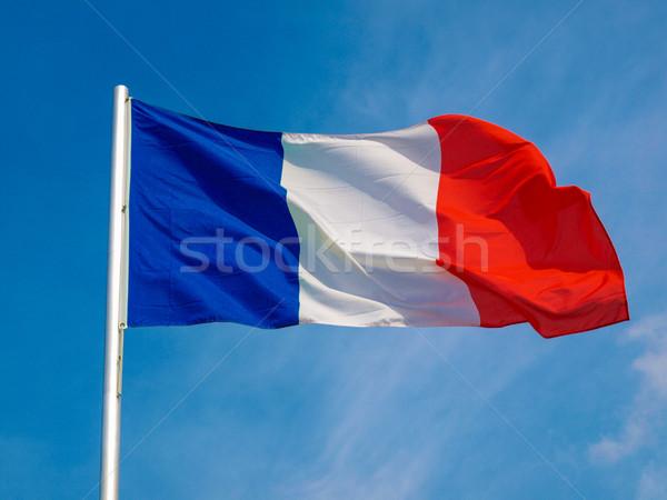 Flag of France Stock photo © claudiodivizia