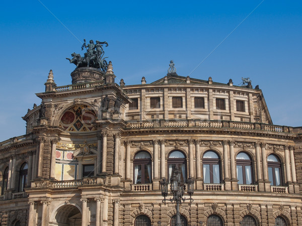 Dresden Semperoper Stock photo © claudiodivizia