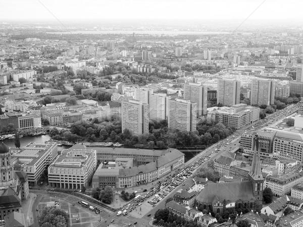 Berlin aerial view  Stock photo © claudiodivizia