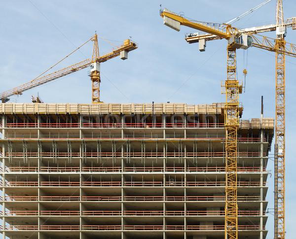 Building site Stock photo © claudiodivizia