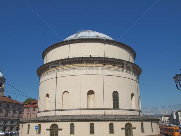 Photo stock: église · la · Italie · rétro · architecture