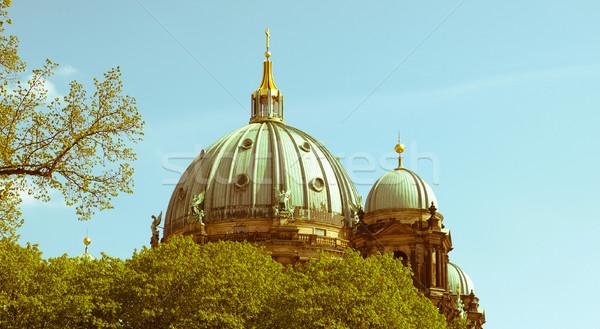 Retro looking Berliner Dom Stock photo © claudiodivizia
