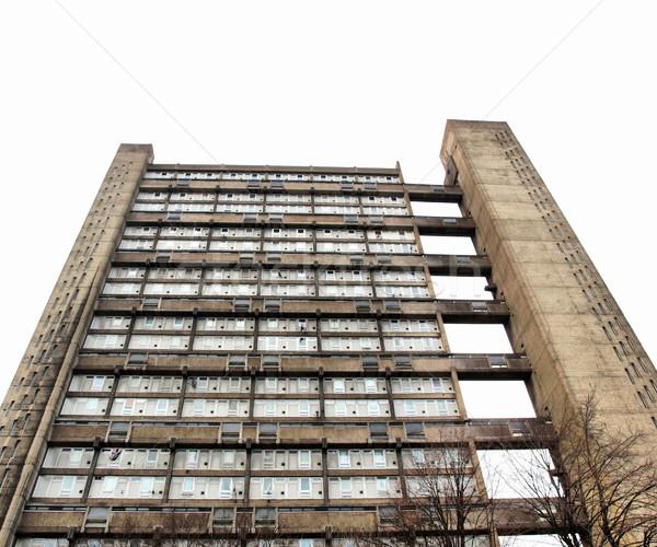 Torony London Anglia magas dinamikus terjedelem Stock fotó © claudiodivizia