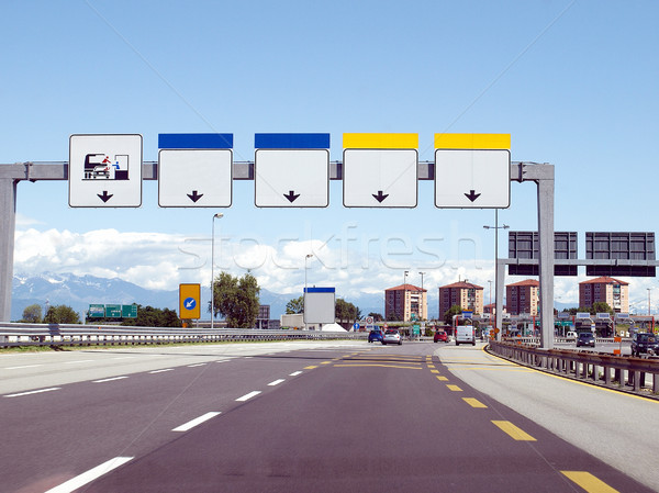 Motorway Stock photo © claudiodivizia