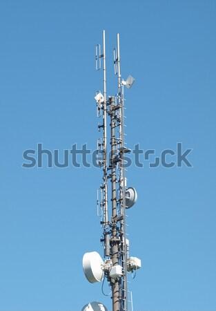 Сток-фото: связи · башни · радио · антенна · антенна · телевидение