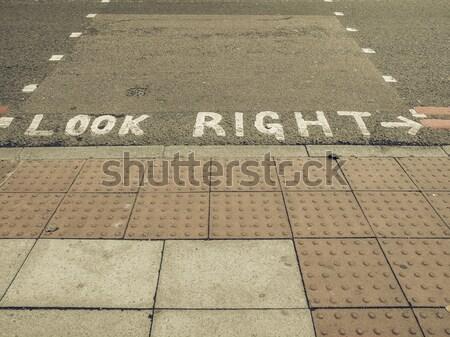 The prime meridian in Greenwich Stock photo © claudiodivizia