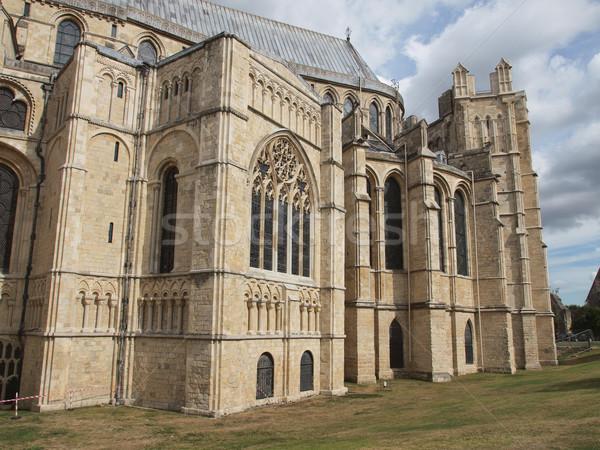 Canterbury Cathedral Stock photo © claudiodivizia